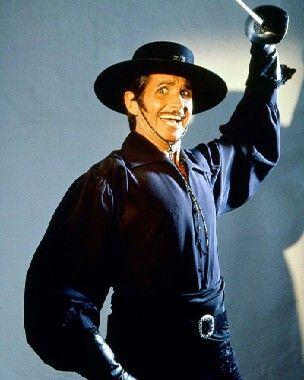 George Hamilton As Zorro With Images George Hamilton Zorro