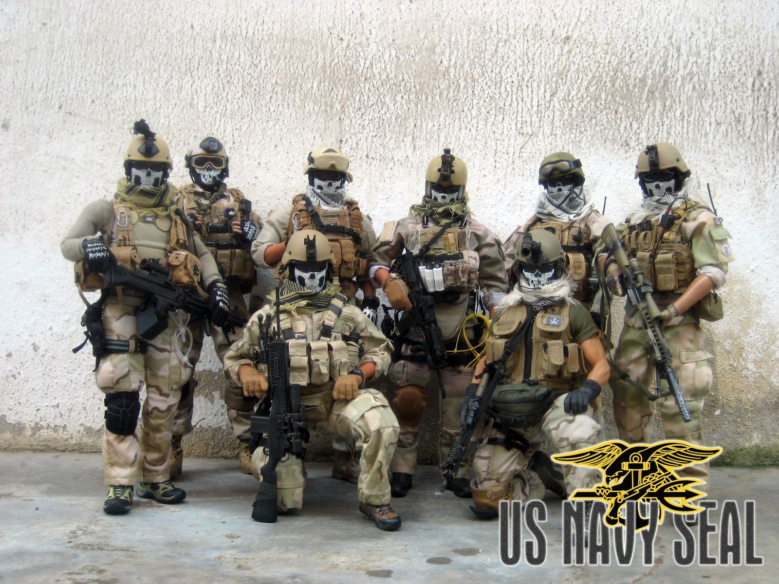 Download Us Navy Seals With F wallpapers to your cell phone flag
