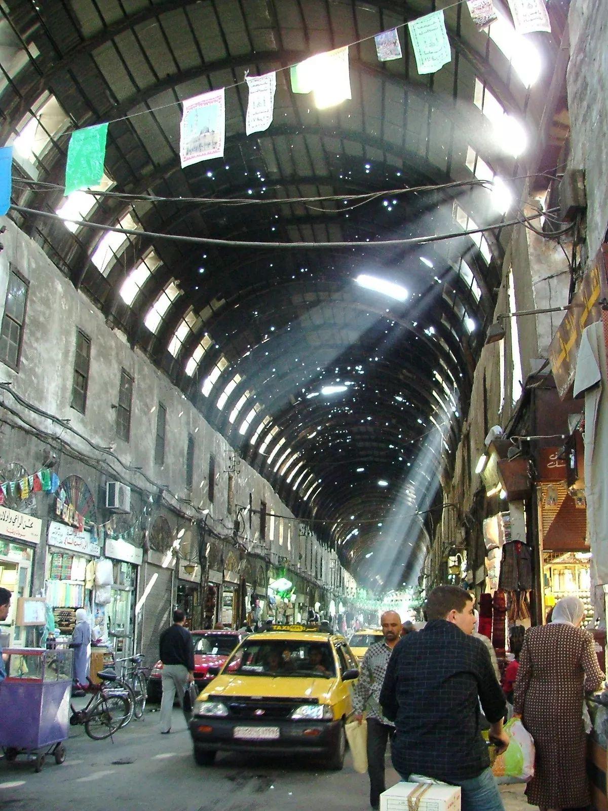 The Souq Damascus Syria Syria Syria Damascus Iran Travel