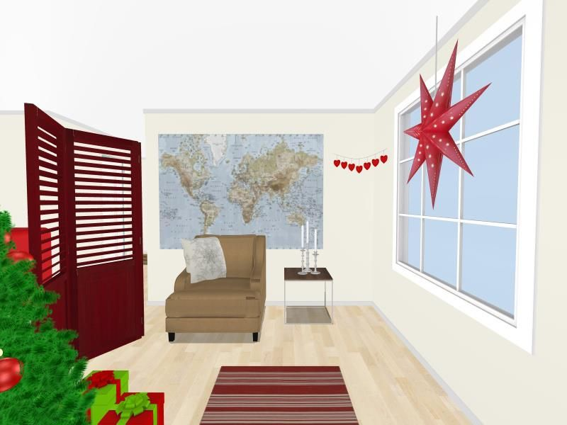Would you change anything about the decor in this space? How would YOU decorate for Christmas?  All of the items you see are available in #RoomSketcher home planner - Make your own floor plan for free:   http://planner.roomsketcher.com/?ctxt=rs_com  image credit: Karoline, Team RoomSketcher  #spaces #floorplan #decor #decorate #Christmas #home