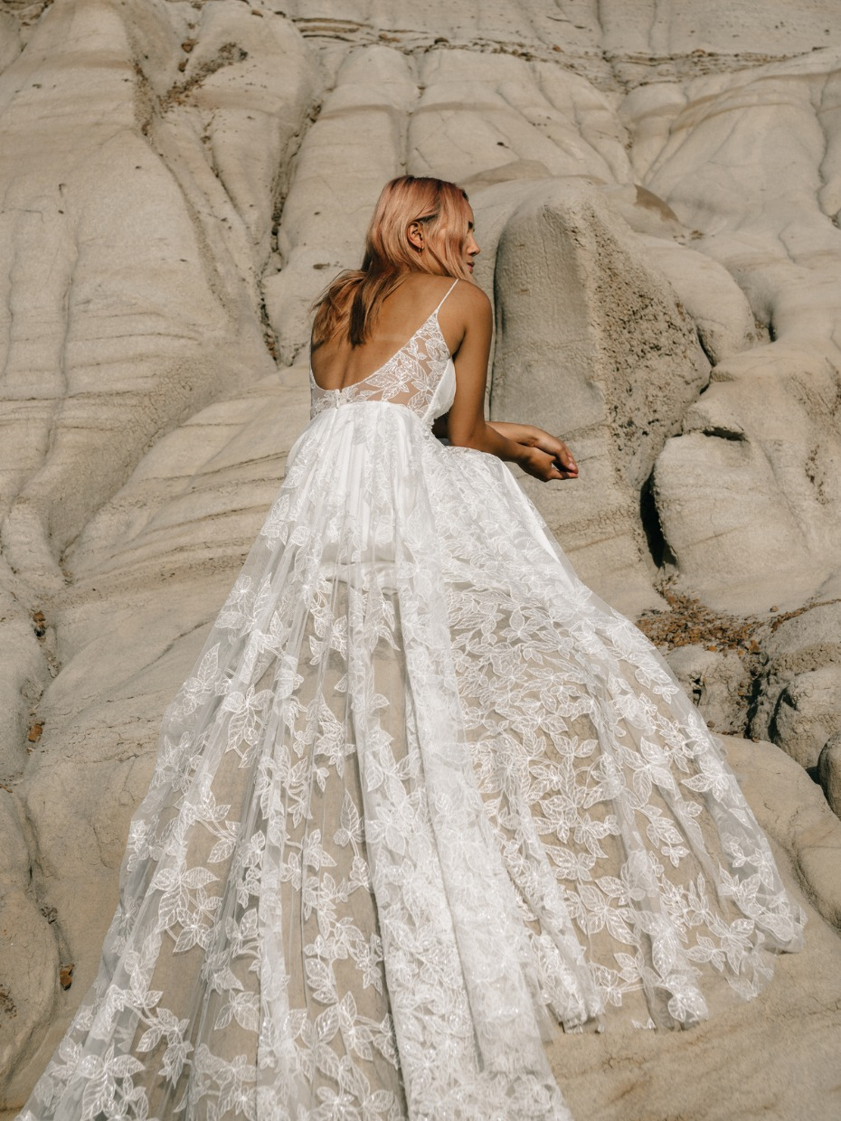 When We Say This Brand Honors And Celebrates Its Brides We Mean It Wedding Gowns Mermaid Wedding Dresses Blush Wedding Dresses [ 1240 x 930 Pixel ]