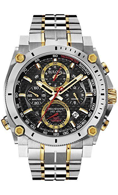 177d25eb362f Bulova Precisionist 98B228 - Reloj de Pulsera Para Hombre