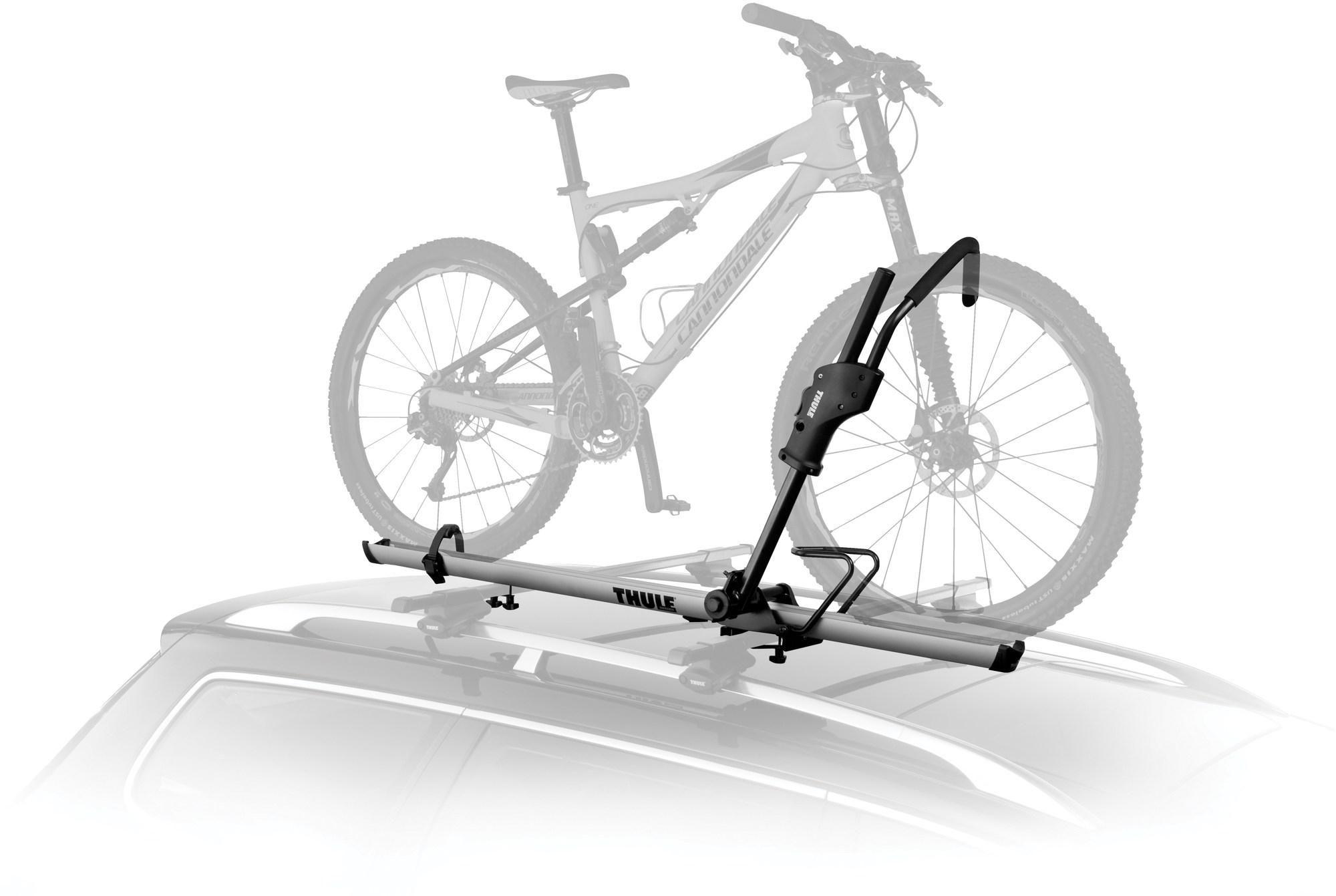 Thule Sidearm Universal Upright Bike Mount Roof Mount Bike Rack Best Bike Rack Bike Rack