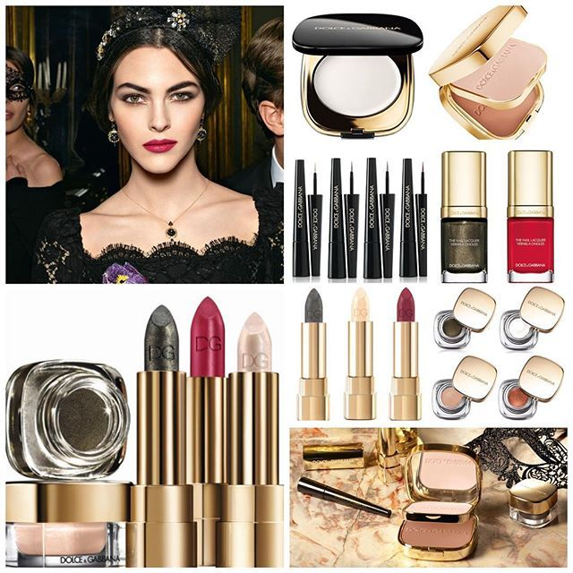 Dolce&Gabbana Holiday 2016 makeup collection