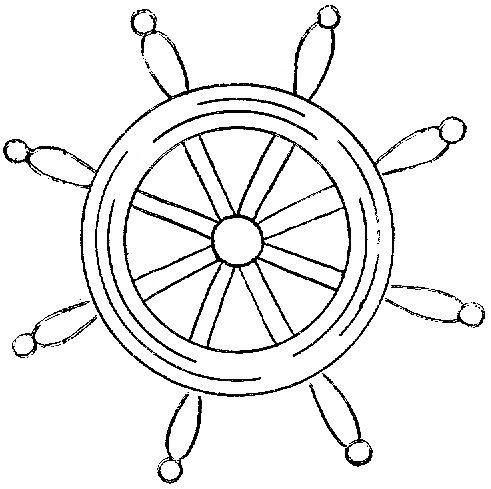 Wb 76 H Cruise Door Decor Stencils Boat Wheel