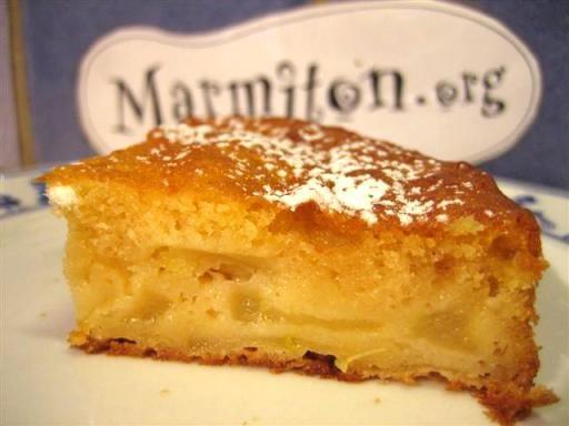 photo 3 de recette gâteau aux pommes facile - marmiton | miam