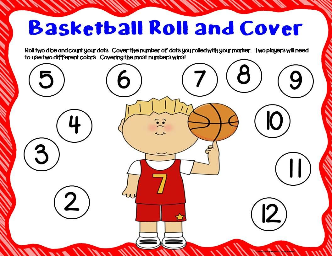 Basketball Unit Activities Amp Center With Images
