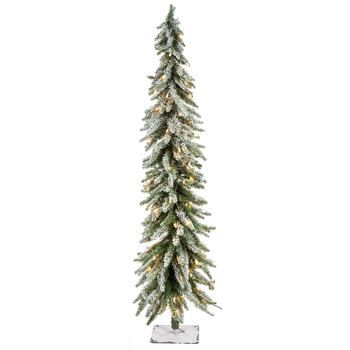 Flocked Accent Pre Lit Christmas Tree 6 Hobby Lobby 5466024 Pre Lit Christmas Tree Christmas Tree Front Door Christmas Decorations