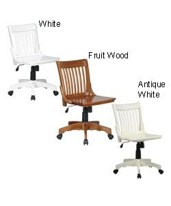deluxe wooden home office. Office Star Deluxe Wooden Bankers Chair -- Overstock.com $125.90 Home T