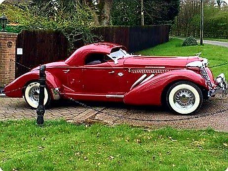 Auburn Coupe – Vintage Car