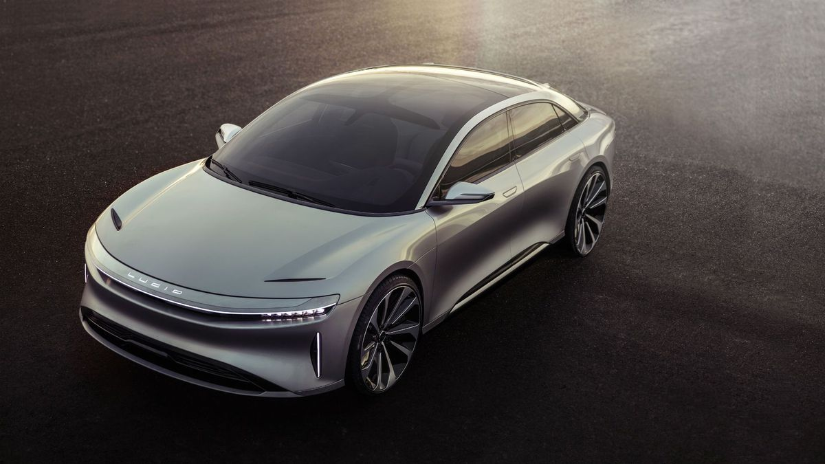 Lucid Motors Air Is A Luxury Electric Car With A 400 Mile Range Electric Cars Concept Cars Vehicles