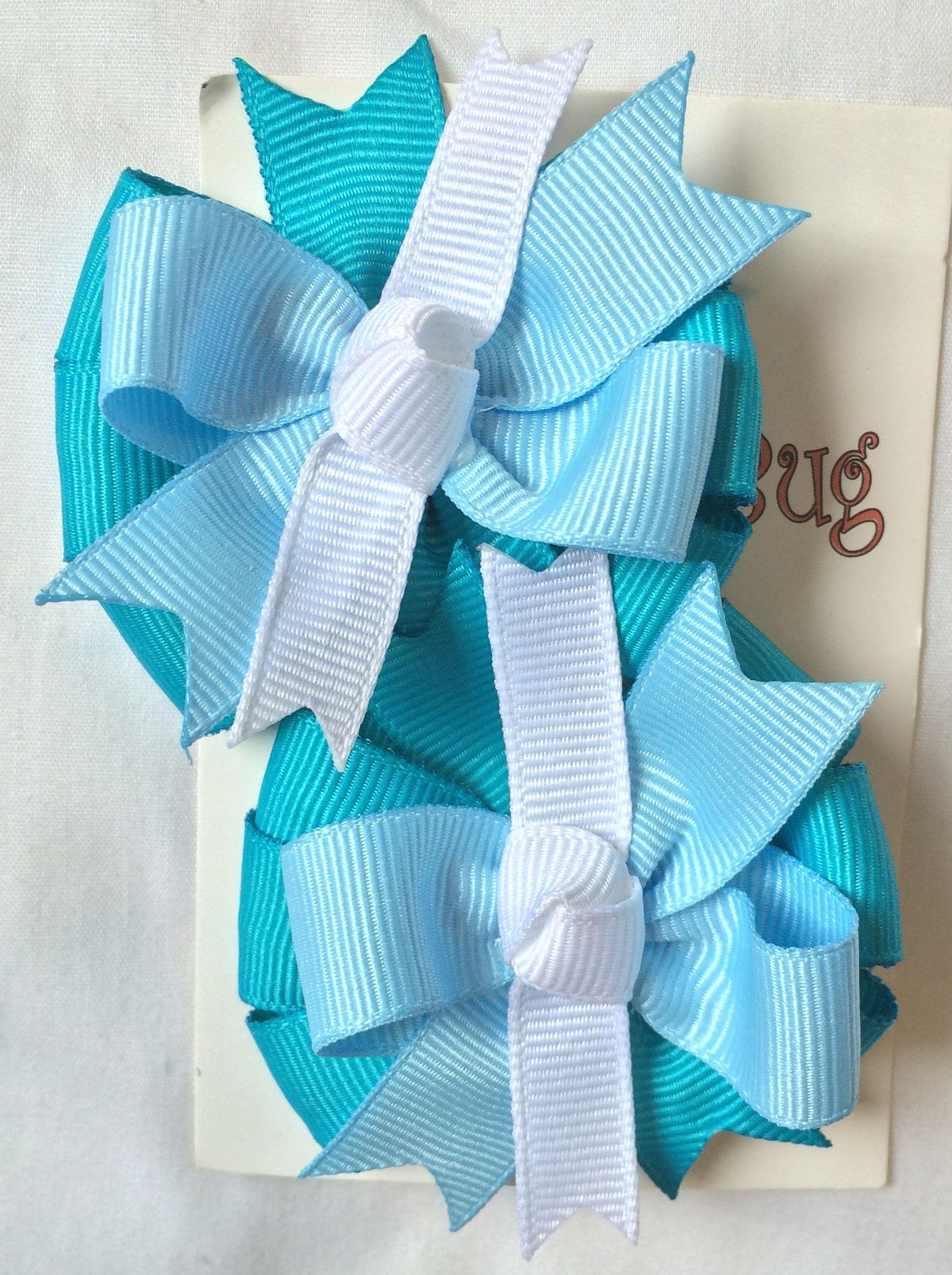 Combinación de colores claros azul blanco Precio $60