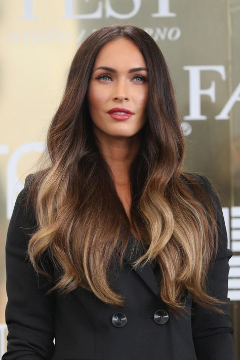 Best hair colours to make dark brown eyes pop
