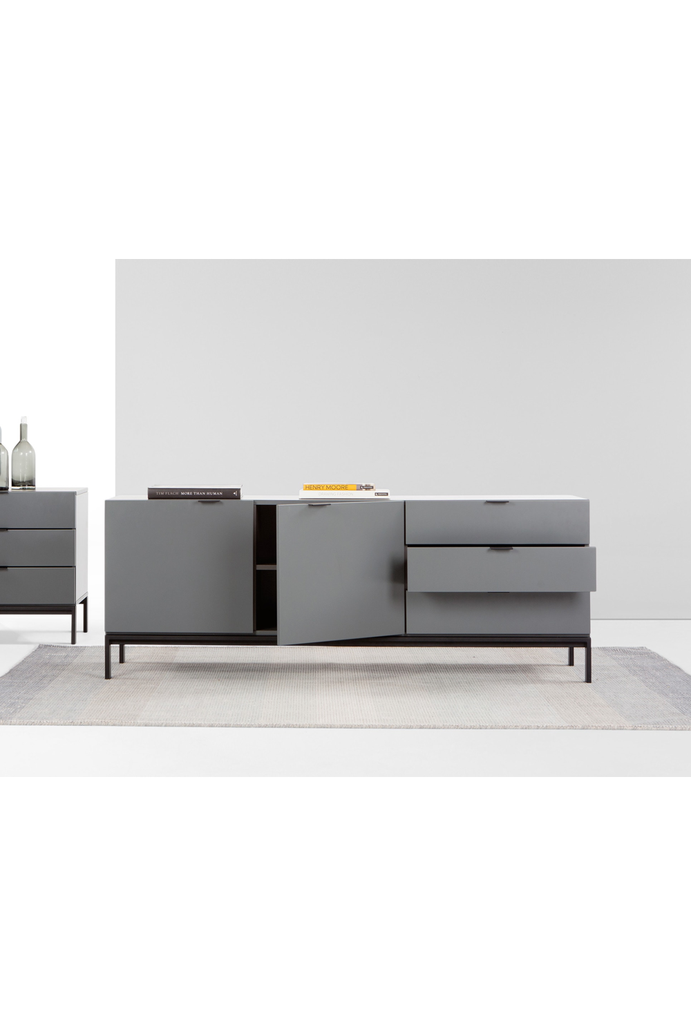 Marcell Sideboard Grau In 2020 Home Interior Design Sideboard