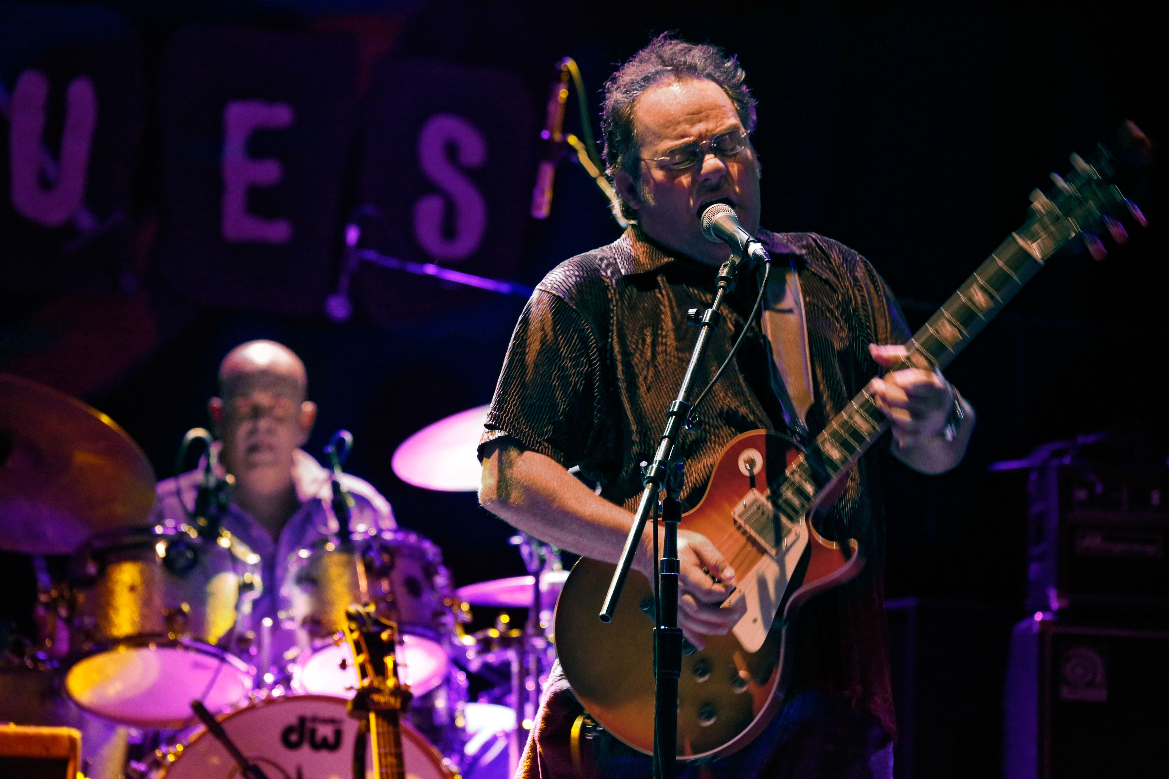 Dave Widow and the Line Up performs at the House of Blues in Anahiem, California —September 2014.