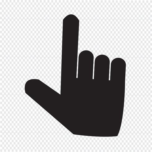 Pointer Icon Symbol Sign Vector Icons Free Free Vector Illustration Icon