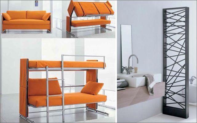 Ideas para decorar pisos peque os con mueble for Muebles para departamentos pequenos