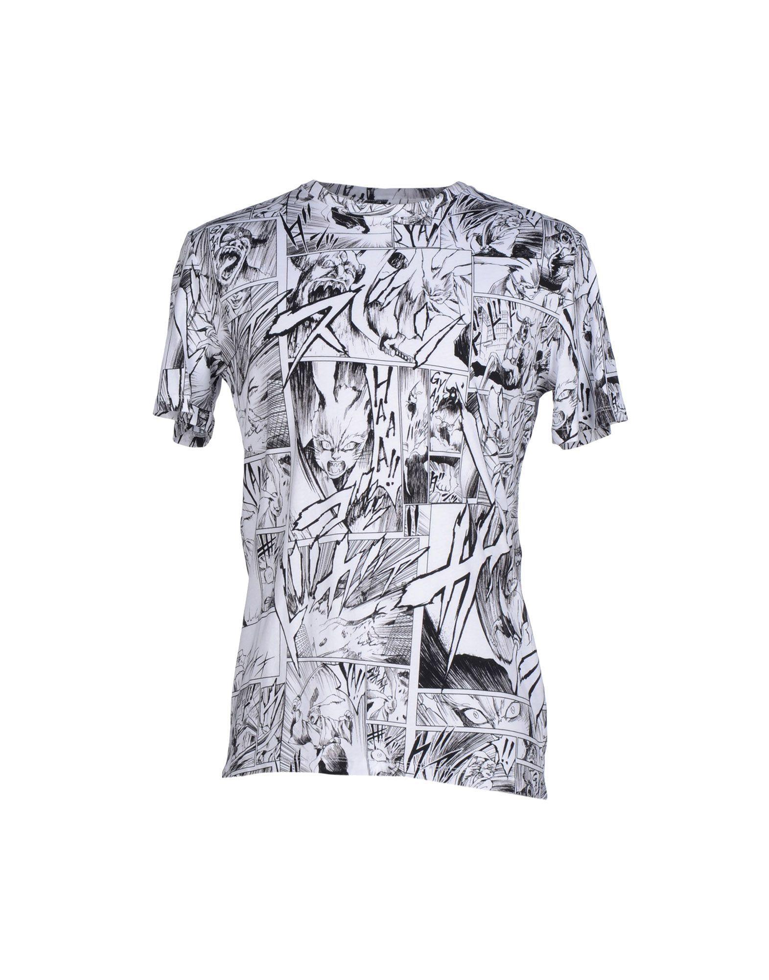 Mcq Alexander Mcqueen T-Shirt - Men Mcq Alexander Mcqueen T-Shirts online on YOOX Egypt - 37740455BS