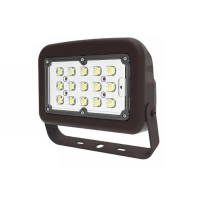 Halco Bronze Outdoor Integrated Led Medium Landscape Flood Light 120 Volt To 277 Volt Yoke Line Voltage Selectable Color In 2020 Led Bronze Home Depot