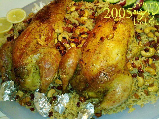دجاج محشى أرز شهيه طيبه Food Recipes Eat