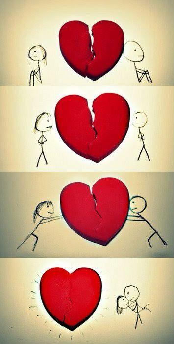 Quando as pessoas se importam umas com as outras, sempre dão um jeito de fazer as coisas darem certo.