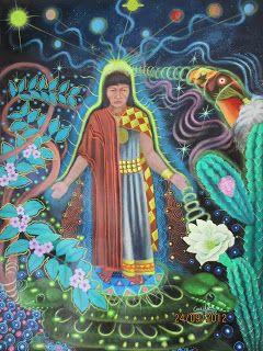 Samari Luz: Salve las Plantas Sagradas!