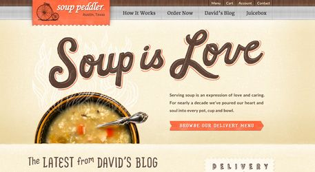 love the type and color palette! www.thebestdesign... #design #websites