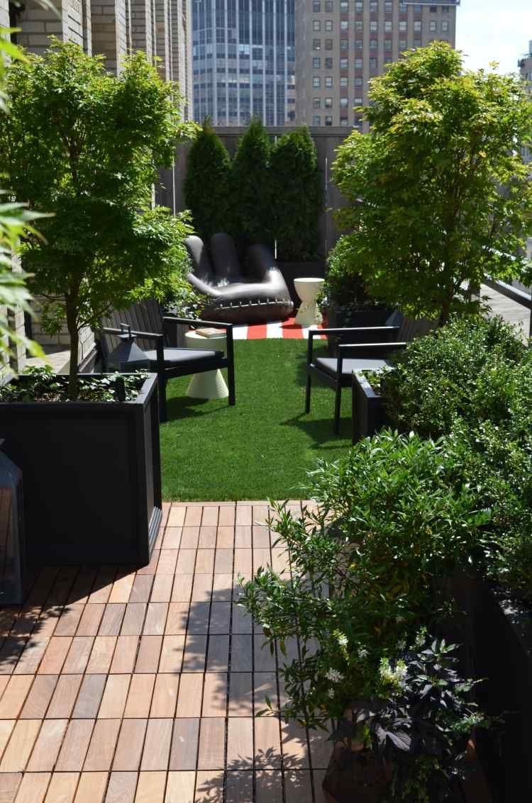 Kunstrasen Auf Der Terrasse   Ein Urbaner Garten
