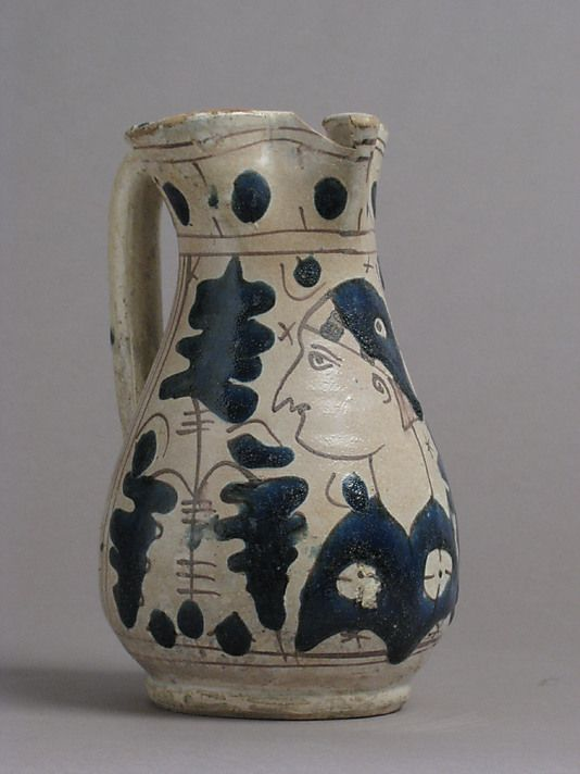 Pitcher 15th C Italian Ancient Pottery Italian Pottery Italy Culture