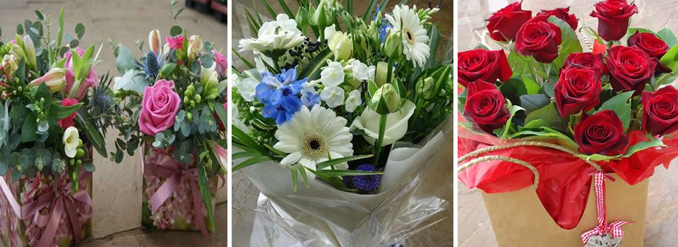 Florist delivering flowers to taunton bridgwater and