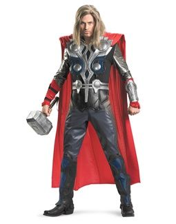Men S The Avengers Theatrical Quality Thor Costume Super