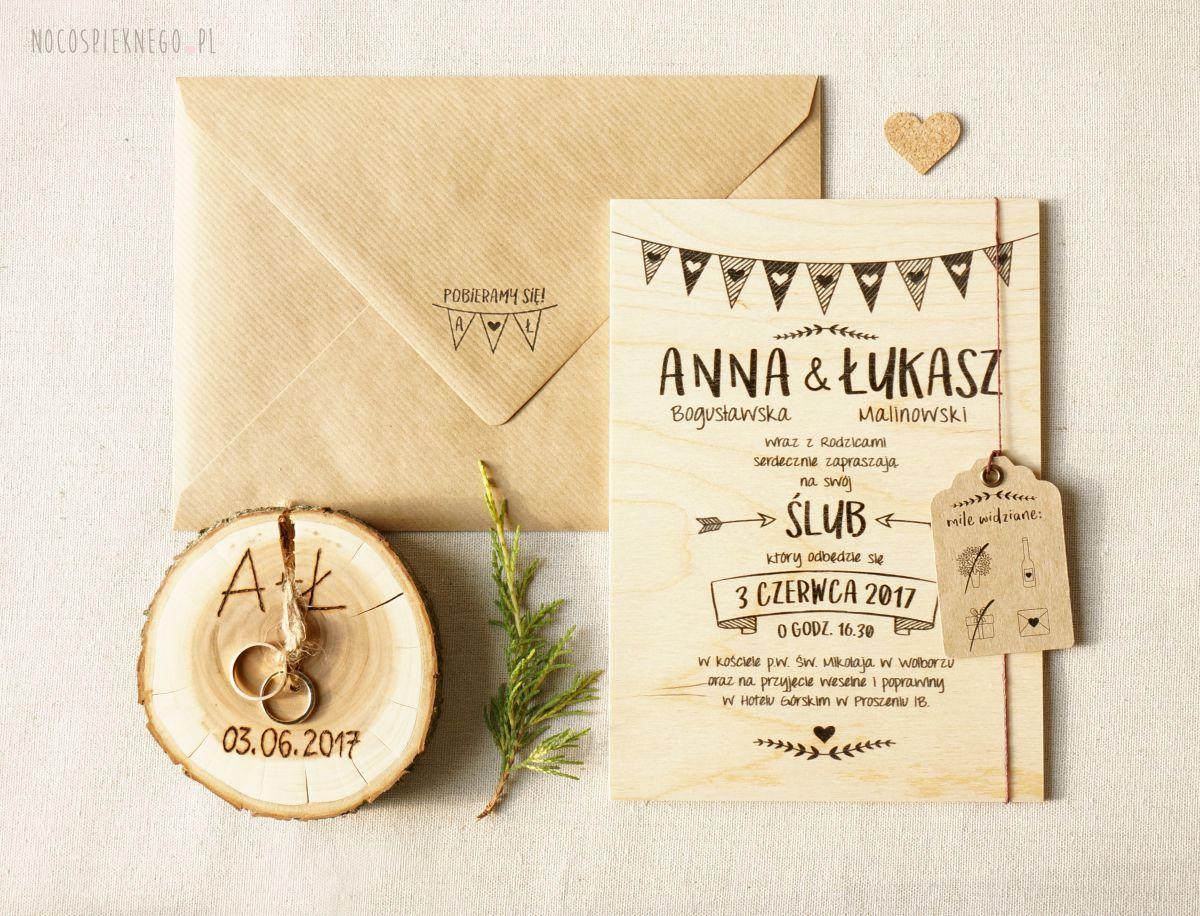 To Wlasnie Milosc Wedding Invitations Polaroid Guest Book Rustic Wedding