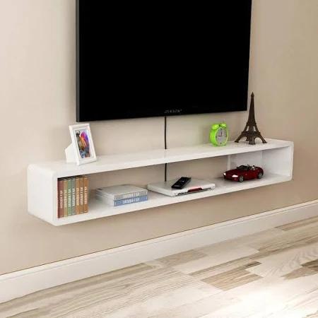 Floating Tv Shelf Oak Google Search Floating Tv Shelf Tv Wall