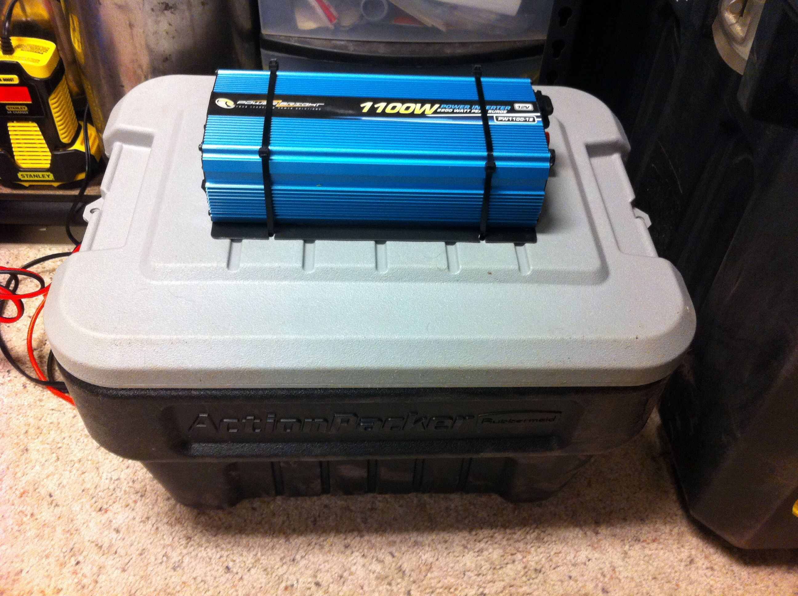 Homemade Battery Backup System Off Grid Power Battery Bank Battery Charger Circuit