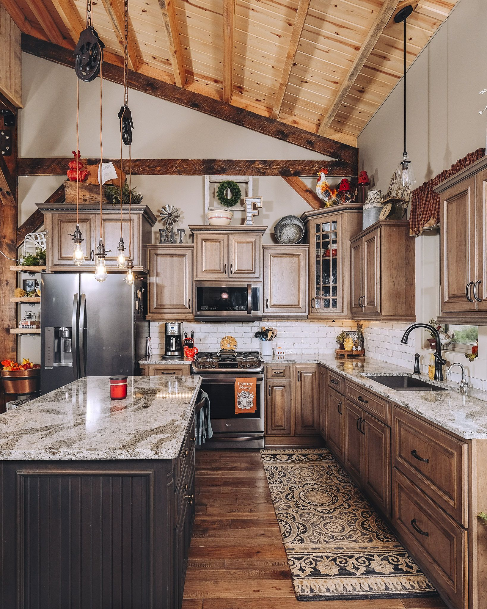 Great Plains Western Barn Home, Project JFR417