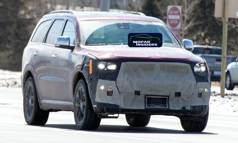 Caught 2021 Dodge Durango Citadel Awd On The Street In 2020 Dodge Durango Dodge Charger Srt Charger Srt