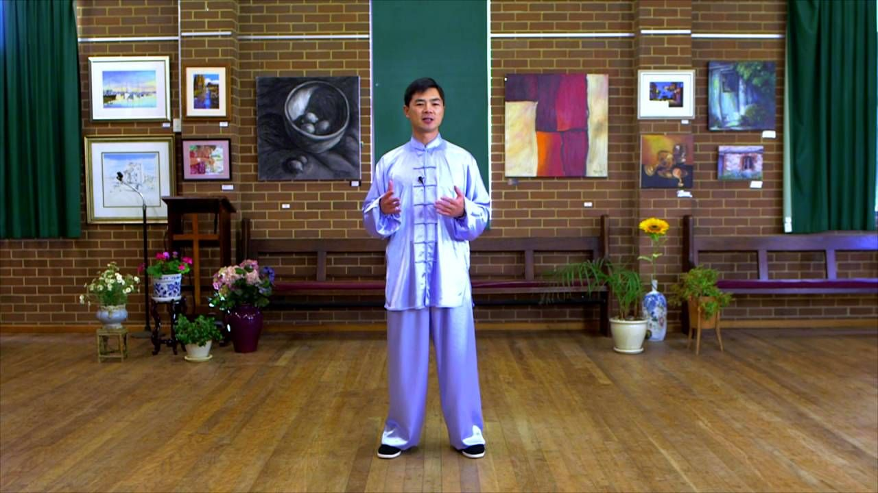 Tai Chi 24 Form Step by Step Instructions (Paragraph 1