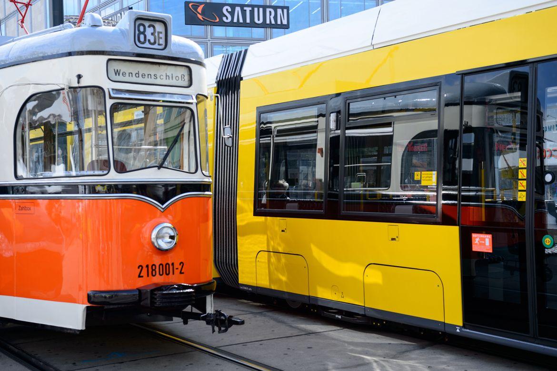 BVG Strassenbahn: Alt und Neu (CC BY-NC-ND)