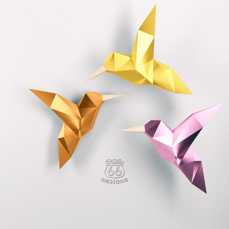 21++ Origami paper craft bird info