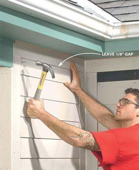 How To Install Fiber Cement Siding Fiber Cement Siding