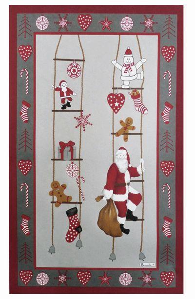 Beauville Papa #Noel #Santa Tea Towel #Christmas