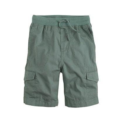 Inspired by cool surfer styles, we took the hang-ten swim trunk out of the ocean and put it on the playground with a classic cargo design. <ul><li>Cotton.</li><li>Machine wash.</li><li>Import.</li></ul>