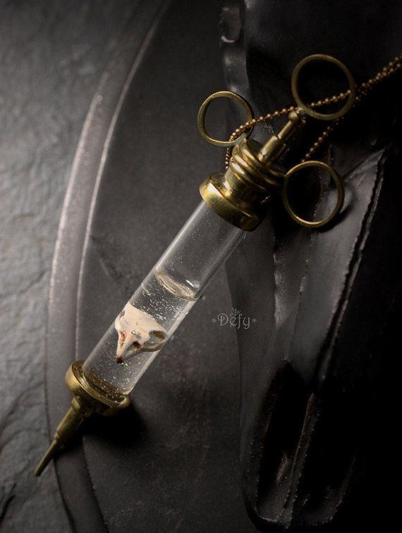 A Tooth Charm Necklace by Defy  Original Brass Handmade Jewelry