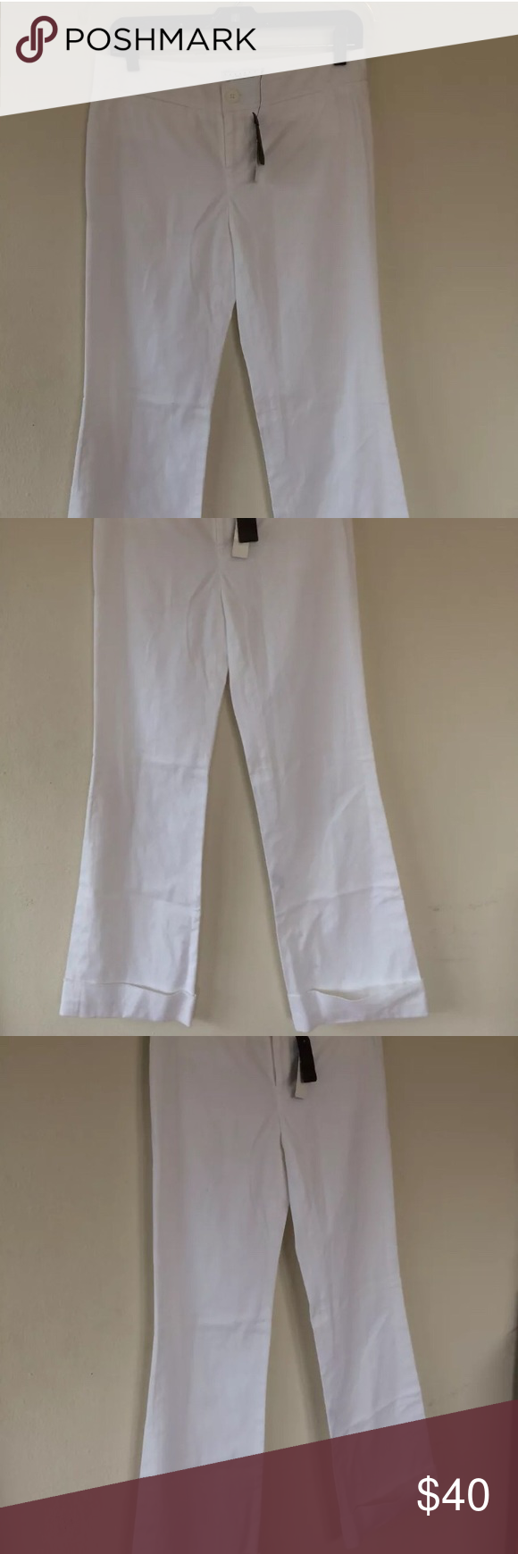 Laundry by Shelli Segal white slacks, size 4 15.5 inch waist when laying flat, 32.5 inch inseam. Laundry By Shelli Segal Pants Boot Cut & Flare #whiteslacks Laundry by Shelli Segal white slacks, size 4 15.5 inch waist when laying flat, 32.5 inch inseam. Laundry By Shelli Segal Pants Boot Cut & Flare #whiteslacks Laundry by Shelli Segal white slacks, size 4 15.5 inch waist when laying flat, 32.5 inch inseam. Laundry By Shelli Segal Pants Boot Cut & Flare #whiteslacks Laundry by Shelli Segal white #whiteslacks