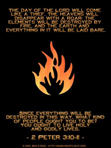 Earth Destroyed By Fire