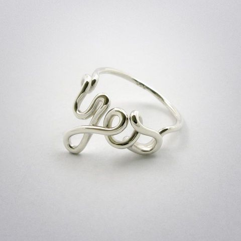ring - Yes - Silber