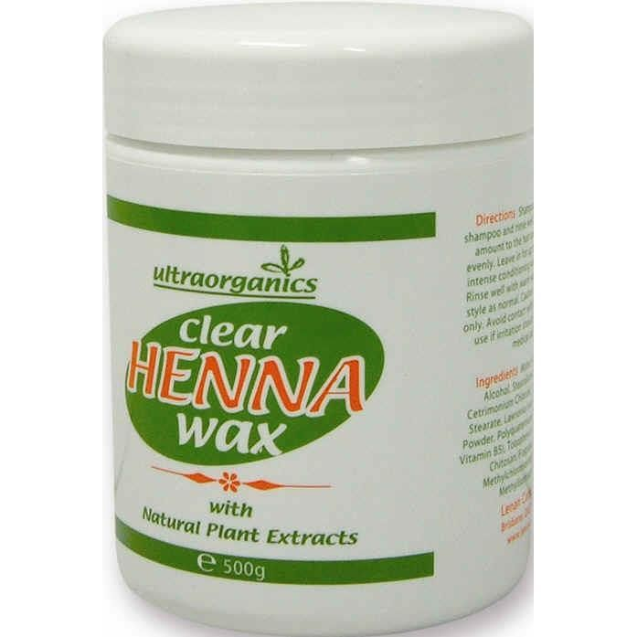 Ultra Organics Clear Henna Wax 500g Chemist Warehouse Wax