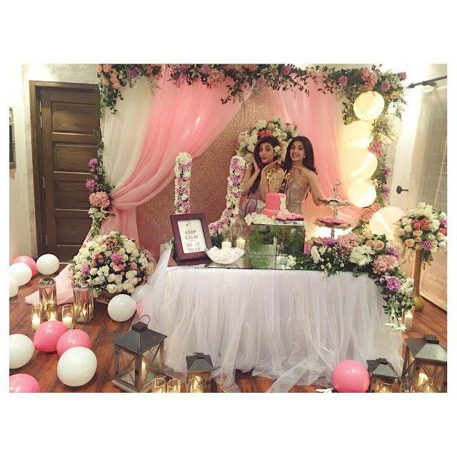 Pakistani Wedding Ideas: Urwa Hocane Wedding Shower Party