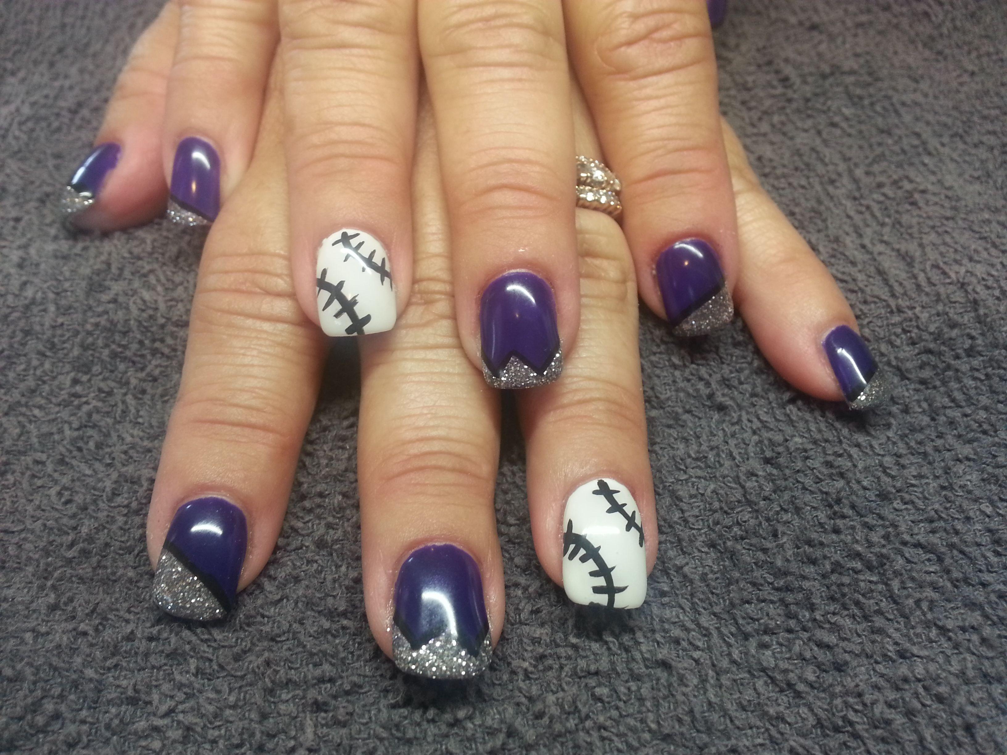 colorado rockies game day nail
