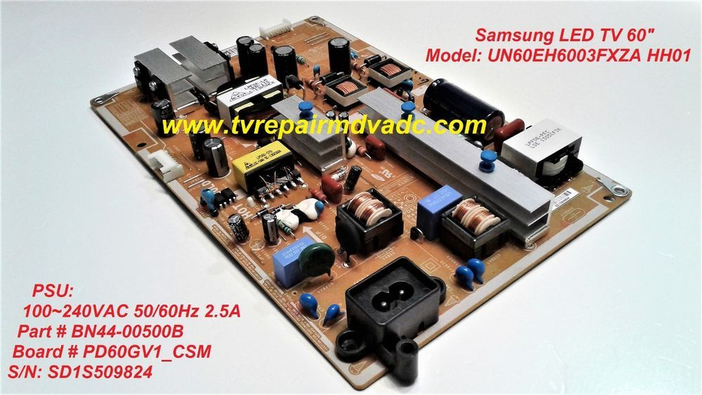 Samsung UN60EH6003F LED TV Driver for Windows